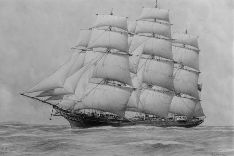 Ticonderoga Clipper Ship