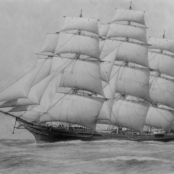 Ticonderoga Clipper Ship