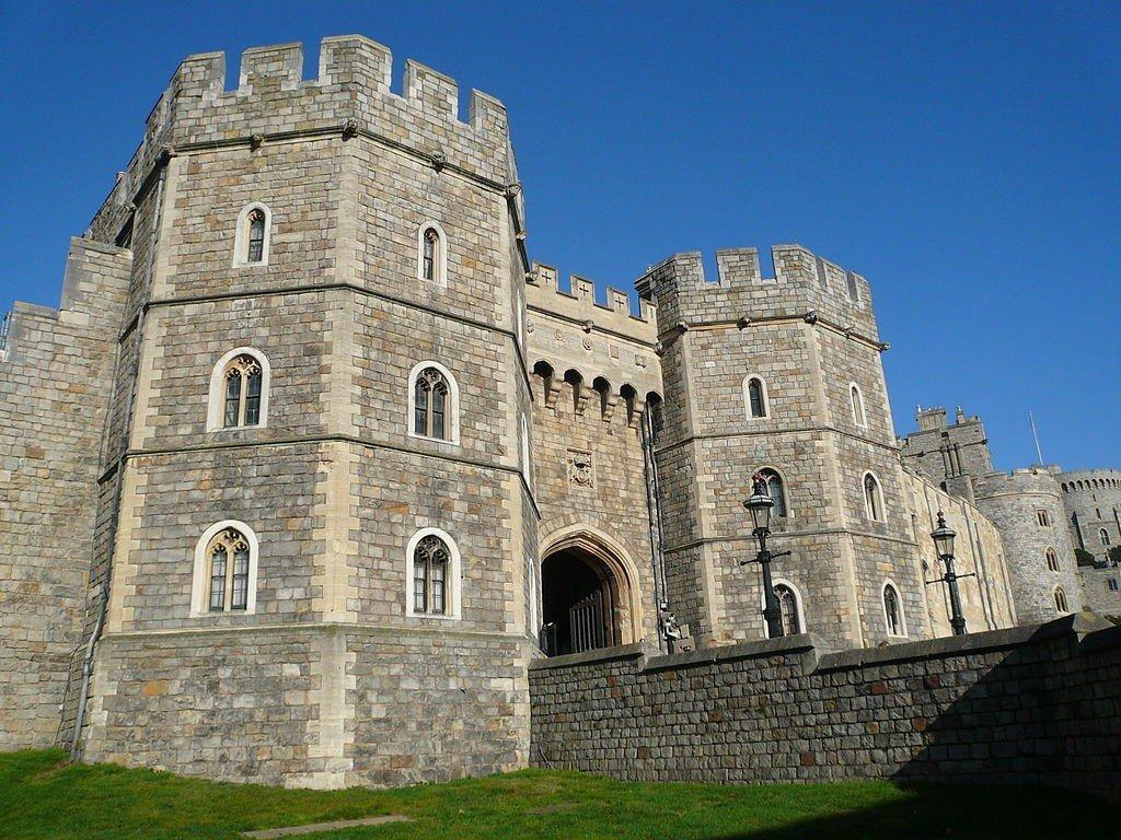 Henry VIII's gatehouse at Windsor Castle