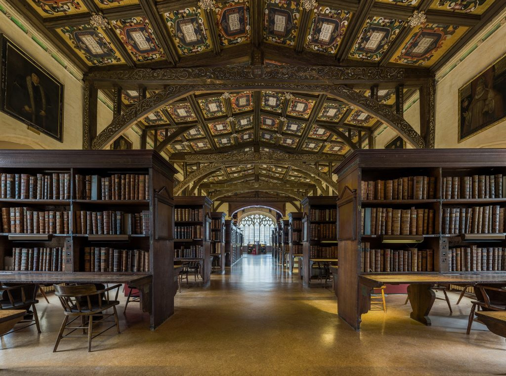 Duke Humfrey's Library at the Bodleian Library