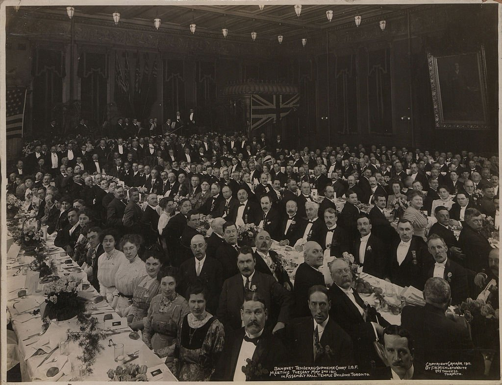 Banquet_tendered_Supreme_Court_IOF_meeting_Tuesday_May_2_1911_In_Assembly_hall_Temple_Building_Toronto_HS85-10-23918