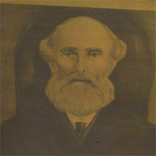Sepia portrait of Rev Henry Thomas Blythe Sr