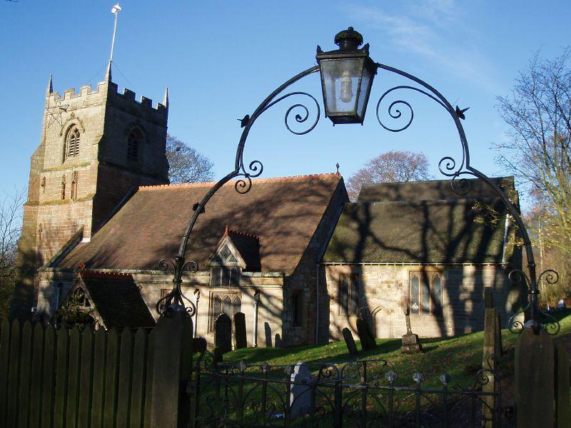 Beoley Churchyard