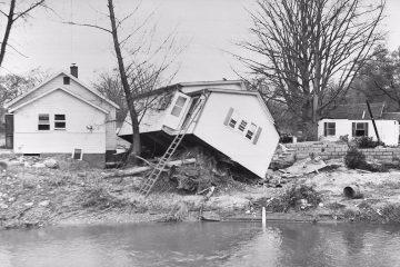 Damage from Hurricane Hazel