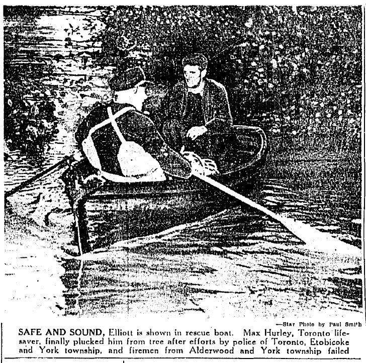 George Elliott Rescued