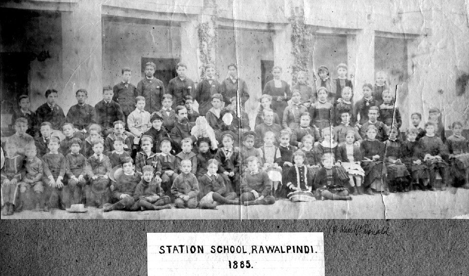 Station-School-Rawalpindi-1885