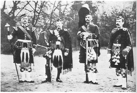 2nd Battalion Argyll and Sutherland Highlanders 1890