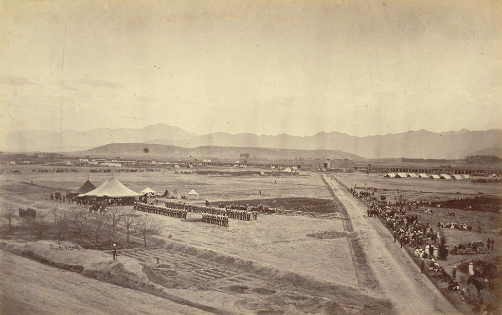 Durbar_Maidan_of_Sherpur_Cantonment_in_1879