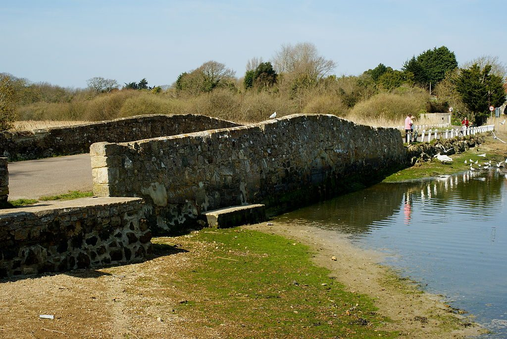 Bridge at Freshwater, Isle of Wight