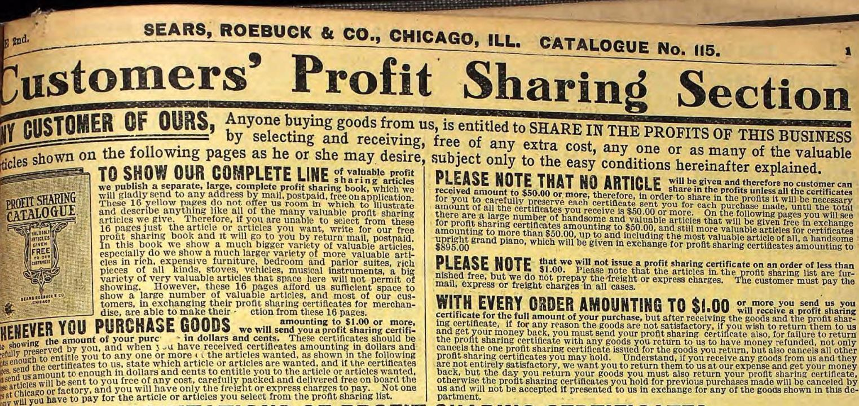Customer-Profit-Sharing