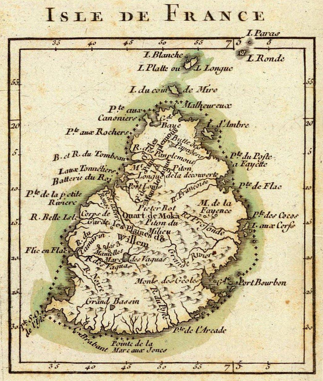 Mauritius-Bonne_-_Isle_de_France_Detail