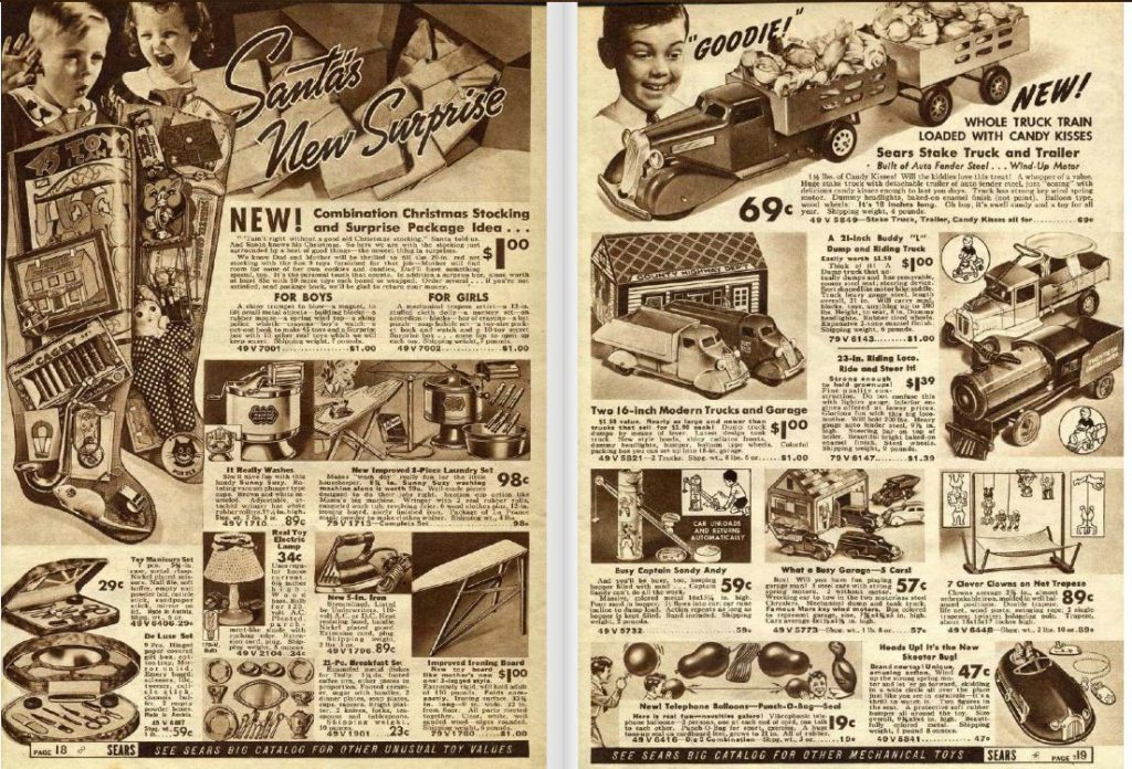 Sears Christmas Book 1937