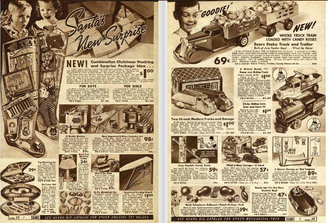 Sears Roebuck Mail Order Catalogue