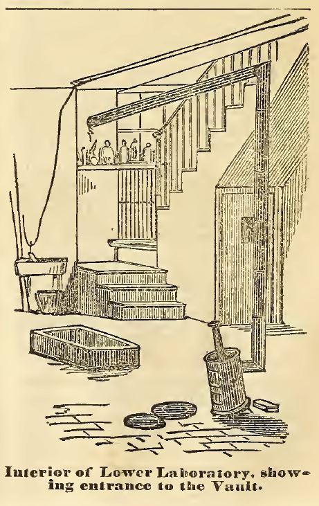Lower Laboratory and Vault