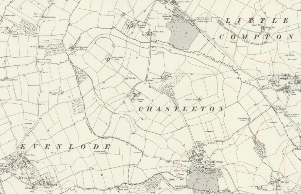 Map of Chastleton