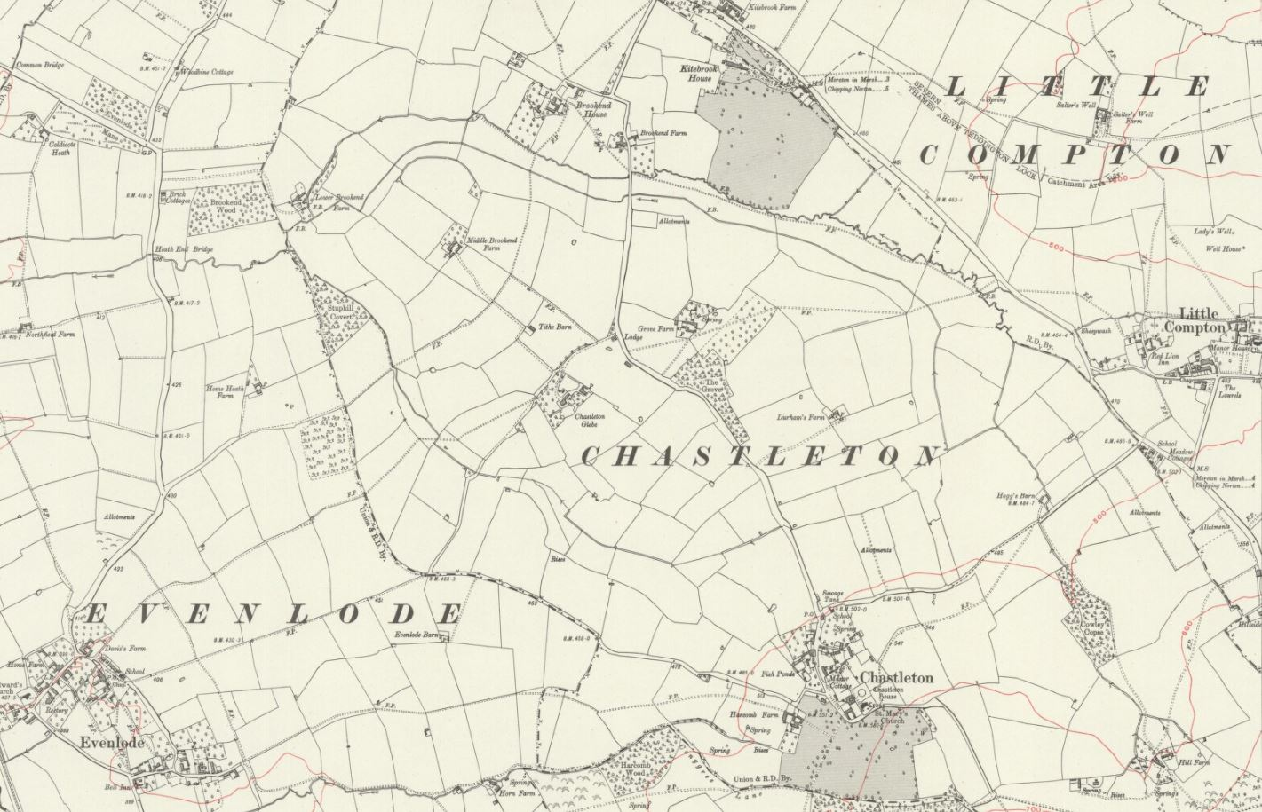 Map-of-Chastleton