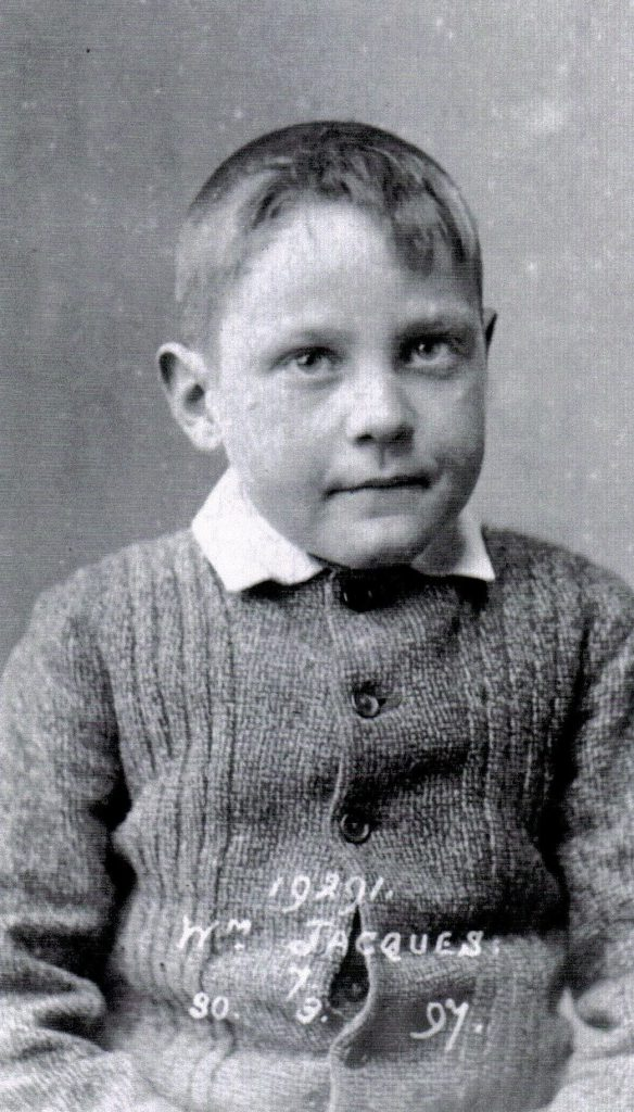 Willie Jacques, aged 8