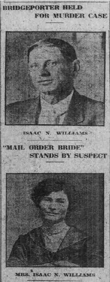 Newspaper Article Isaac Williams and Nannie Williams