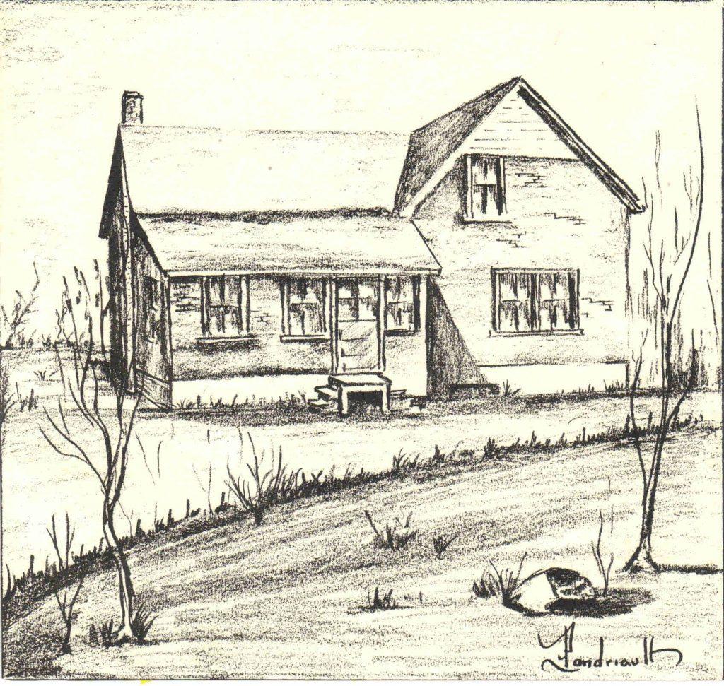 Sketch of the New Liskeard House.