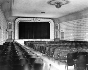 Empire Movie Theatre New Liskeard. Opened in 1935.