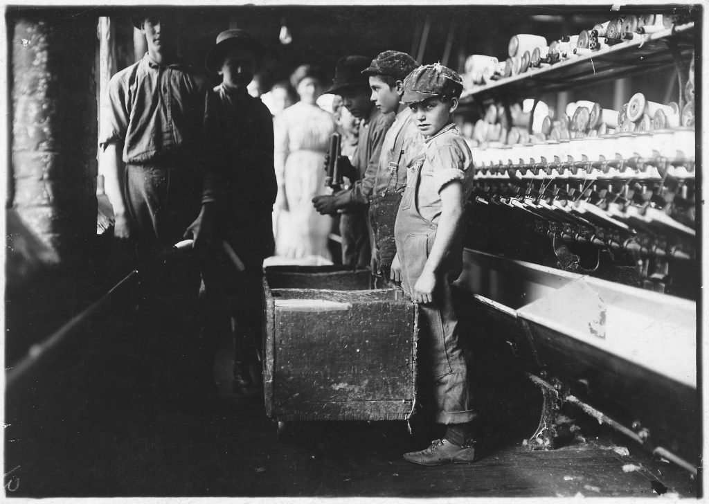 Child Labour in Lancaster Cotton Mills